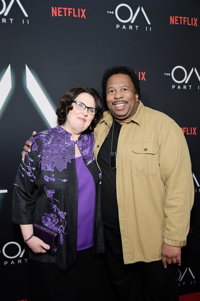Phyllis Smith And Leslie David Baker The Office Reunion 2019 Popsugar Entertainment