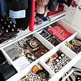 Jen Ramos Lined Her Drawers With Leopard Wallpaper