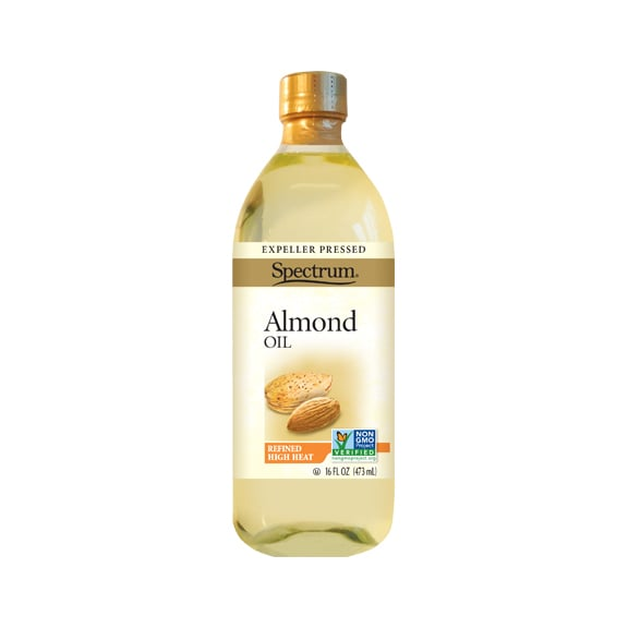 Spectrum Natural Pressed Refined Almond Oil ($7) EWG Rating: 1 Almond oil is less greasy than other natural oils.