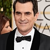 Modern Family's Ty Burrell was funny and sexy on his way into the show.