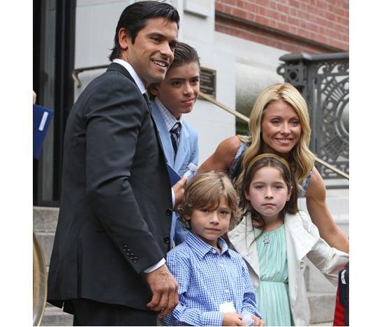 The Ripa-Consuelos Family