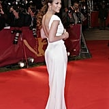 Jennifer Lopez White Dress Pictures