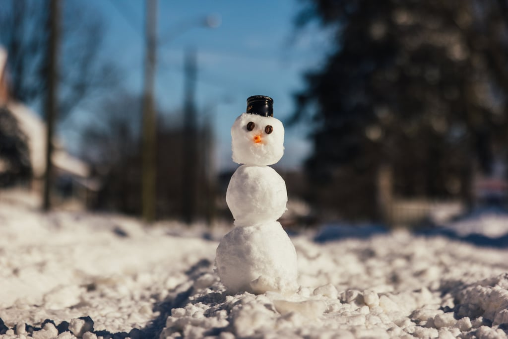 Have a Snowman Building Contest