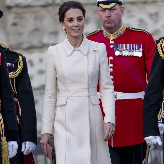 Kate Middleton Cream Catherine Walker Coat 2019