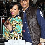 "T.I. and wife, Tameka ""Tiny"" Cottle smiled on the red carpet at the Identity Thief premiere in LA."