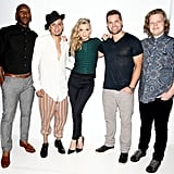 The Hunger Games: Mockingjay — Part 1 costars Mahershala Ali, Evan Ross, Natalie Dormer, Wes Chatham, and Elden Henson gathered for a picture on Friday.