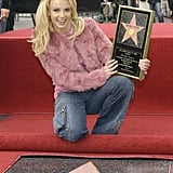 When She Made History on the Hollywood Walk of Fame