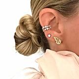 Melinda Maria Chrysalis Butterfly Ear Jacket Earring