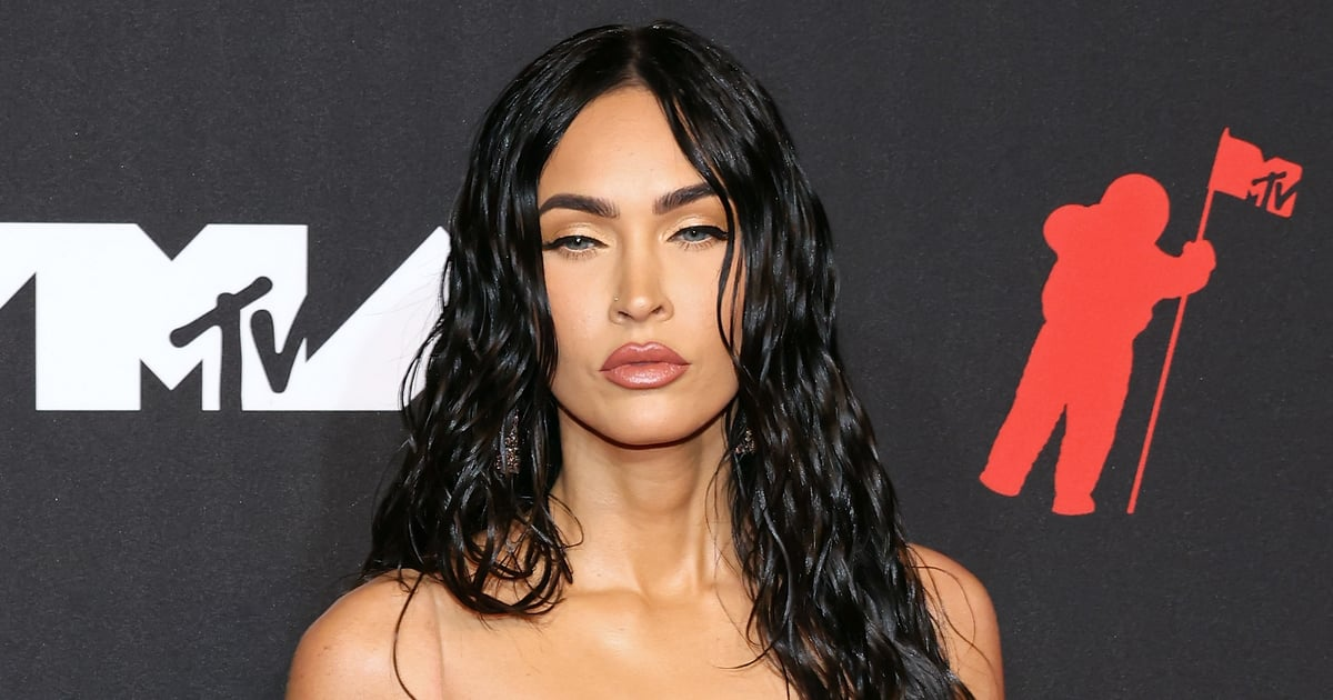 """Megan Fox Is Proof: """"Liquid Hair"""" Will Be the Hottest Trend to Try This Fall.jpg"""