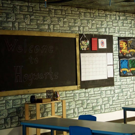 Teacher Decorates His Classroom to Look Like Hogwarts