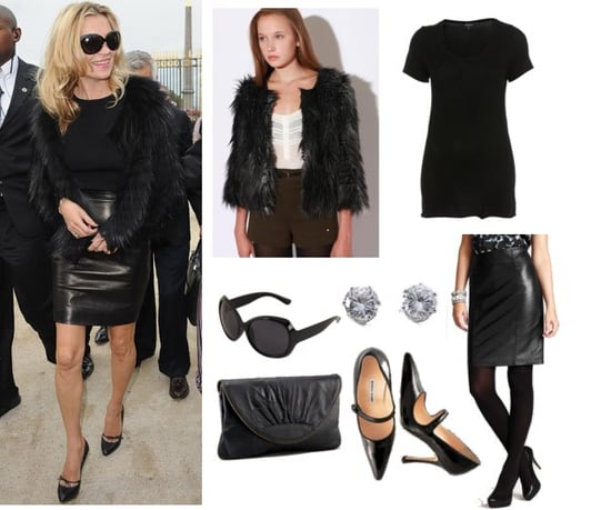 Pictures of Kate Moss at Christian Dior 2011 Spring Show