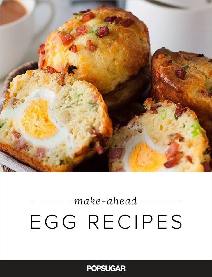 Make-Ahead Egg Recipes