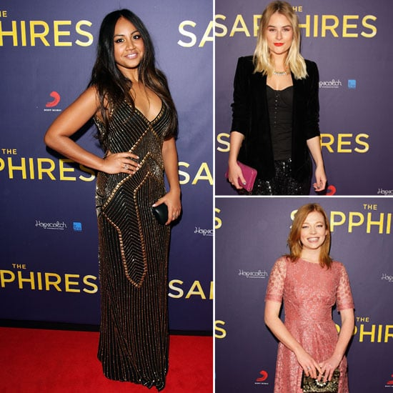 Pictures of Celebrities at The Sapphires Sydney Premiere: Jessica Mauboy, Deborah Mailman, Carissa Walford and more