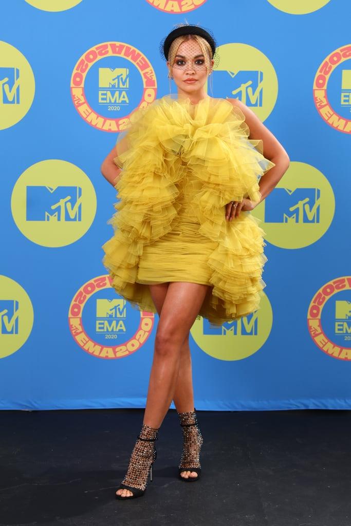 Rita Ora at the 2020 MTV EMA