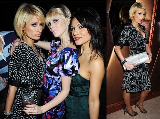 Photos of Paris Hilton Premiering Her British BFF TV Show in London