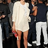 Leandra Medine at the J.Crew and CFDA/Vogue Fashion Fund dinner in NYC. Source: Neil Rasmus/BFAnyc.com
