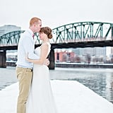 This Stunning Oregon Wedding Made the Most of the Unexpected Snow