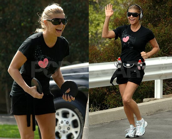 Fergie Is...Wait for it...Working On Her Fitness (Again)