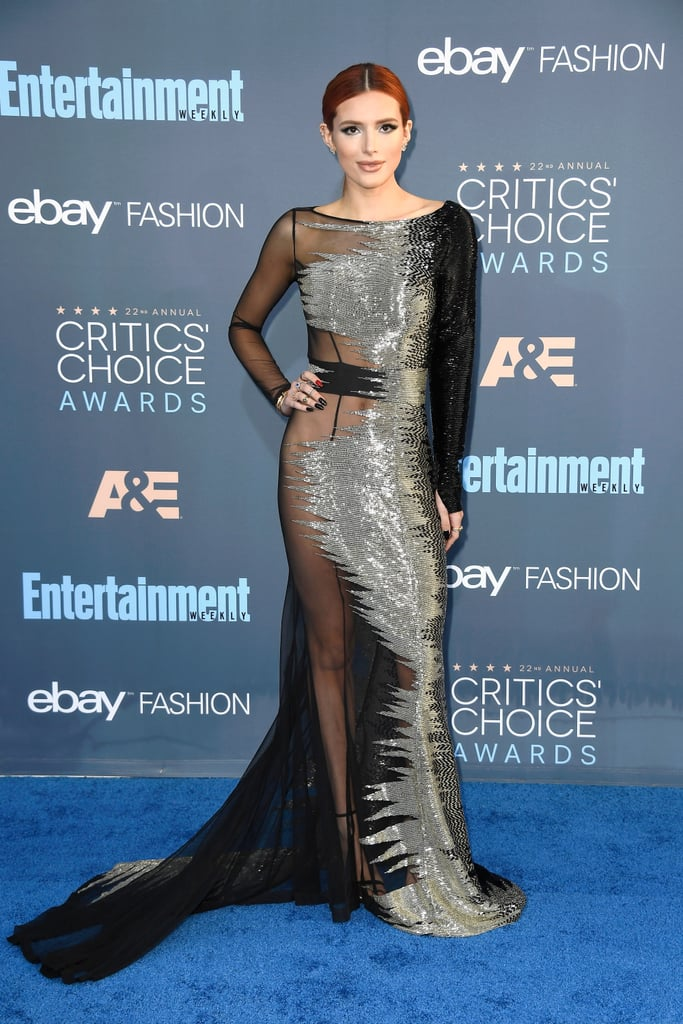 Bella Thorne at the Critics' Choice Awards 2017