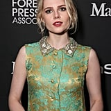 Lucy Boynton at the 2016 Toronto International Film Festival