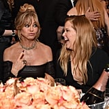 Pictured: Goldie Hawn and Amy Schumer