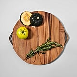 Hearth & Hand With Magnolia Round Acacia Wood Cutting Board