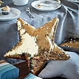 Reversible-Sequin Cushion