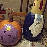 Lumpy Space Princess and Ice King From Adventure Time