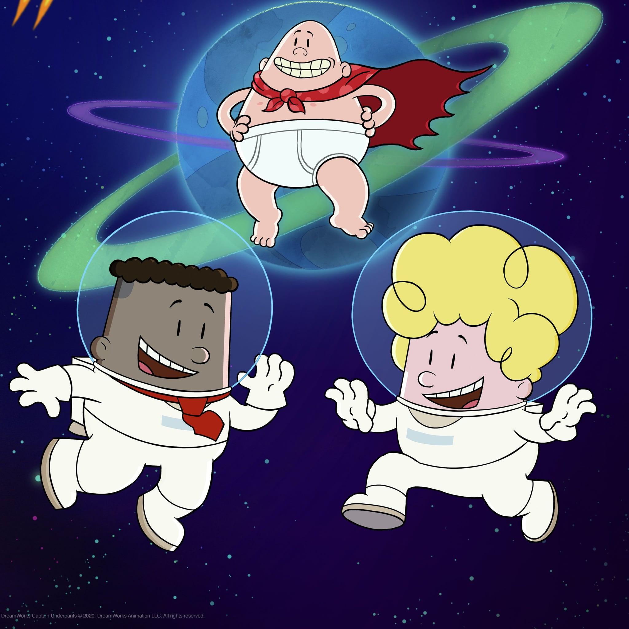 Netflix Captain Underpants In Space Trailer And Photos Popsugar Family