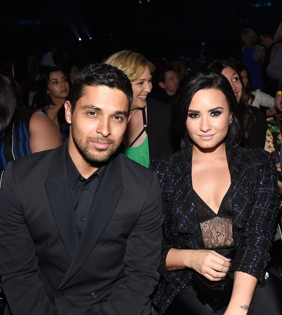 Pictured: Wilmer Valderrama, Demi Lovato