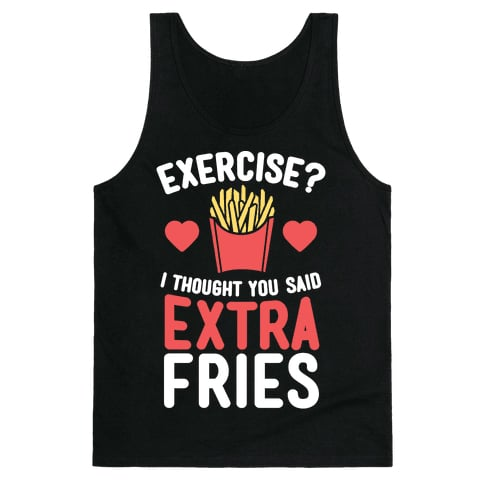 Activate Extra Fries Tank