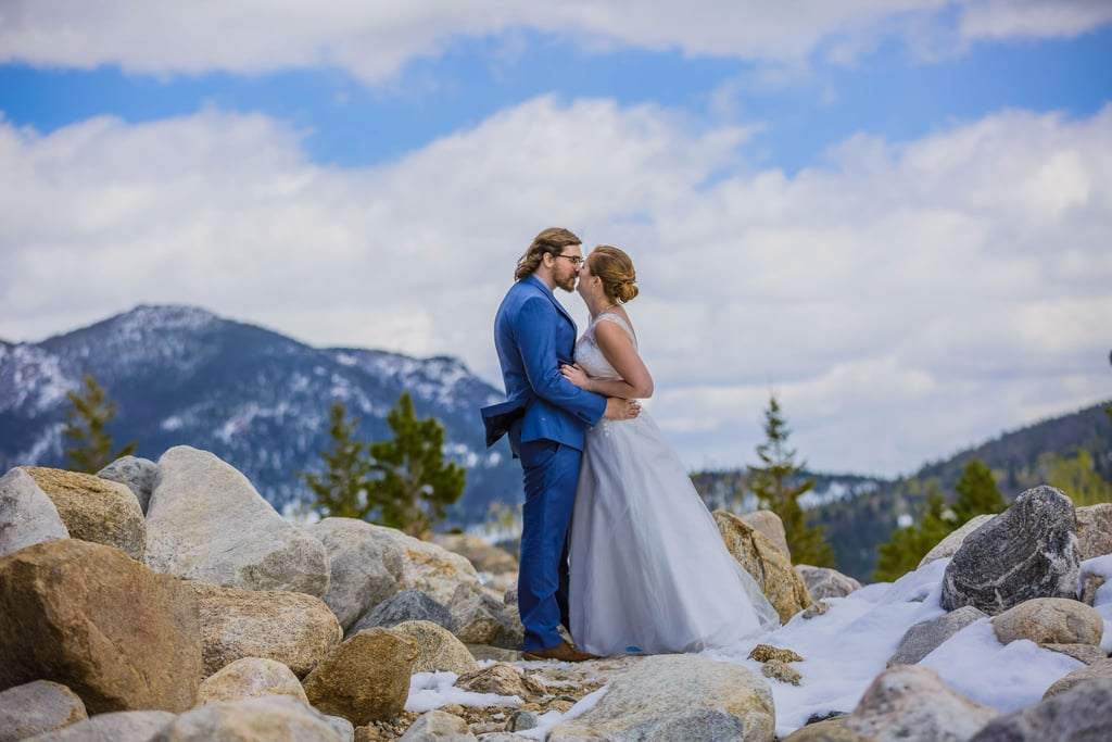 This Couple's Winter Wonderland Elopement Was Absolutely Breathtaking