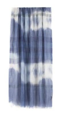 Burberry Dip Dye Check Stole