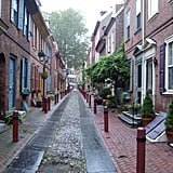 Walk down America's oldest continuously inhabited residential street.