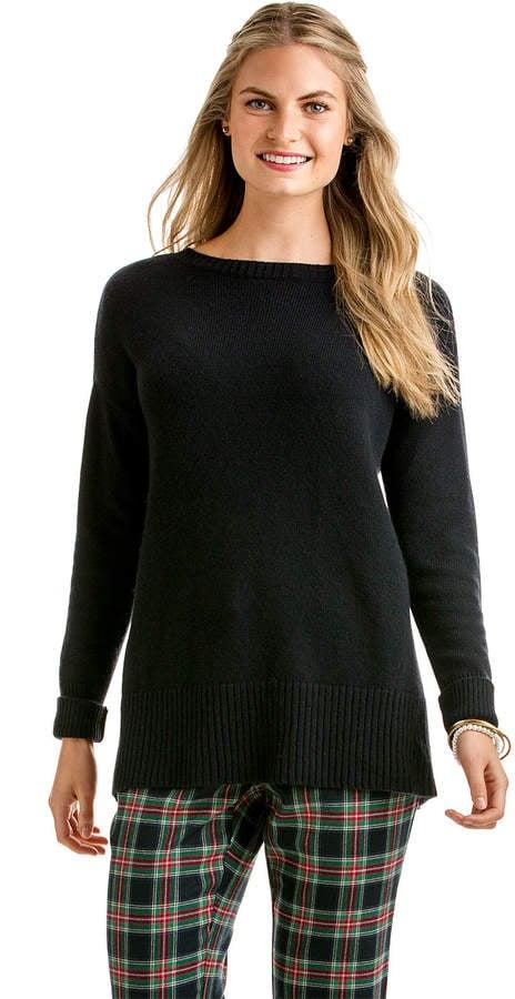 Vineyard Vines Split-Back Boatneck Sweater ($115, originally $148)