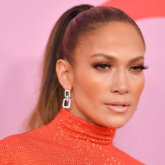 Jennifer Lopez Got a Subtle Curtain Bangs Haircut