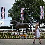 The Epsom Derby kicked off with Ladies Day today.