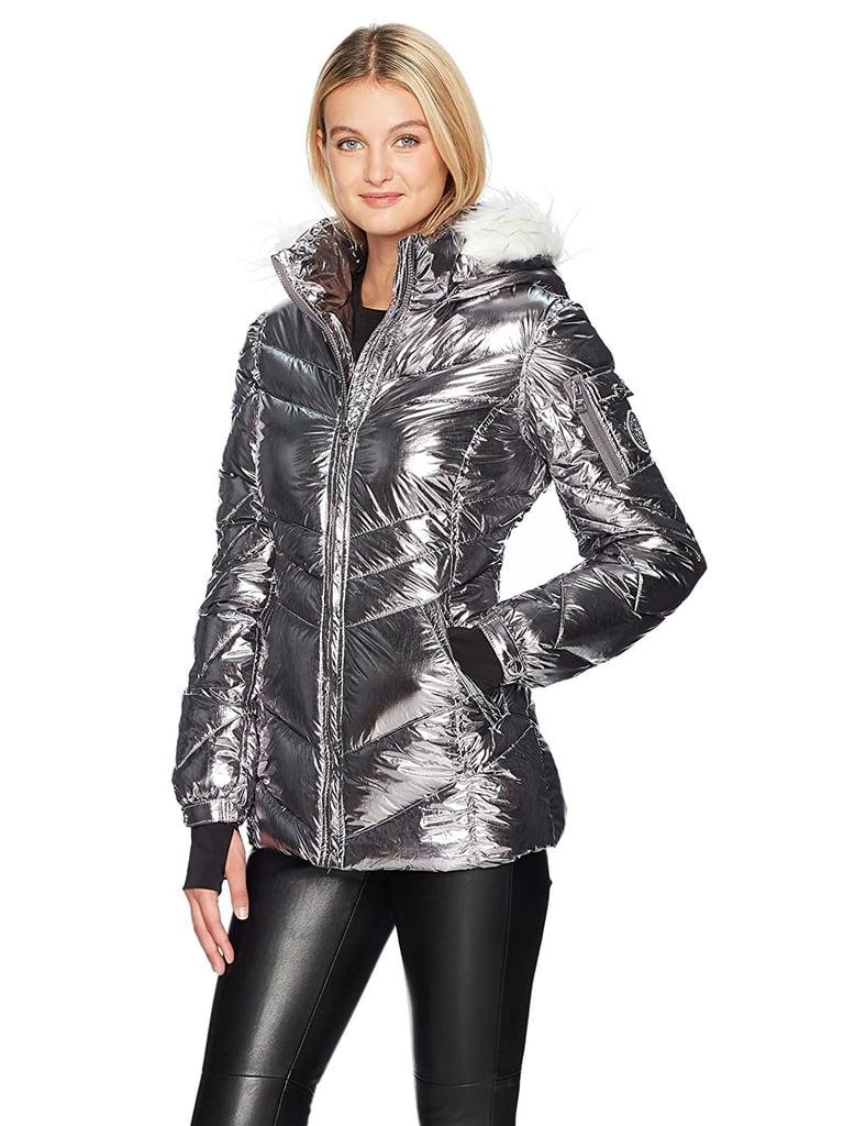 Madden Girl Nylon Puffer Jacket
