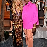 Rachel Zoe attended a fashion show.