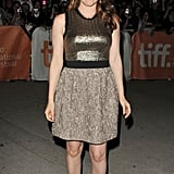 Alicia Silverstone arrived for the Toronto Film Festival premiere of Butter.