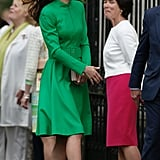 Kate Middleton's Green Dress at the Chelsea Flower Show
