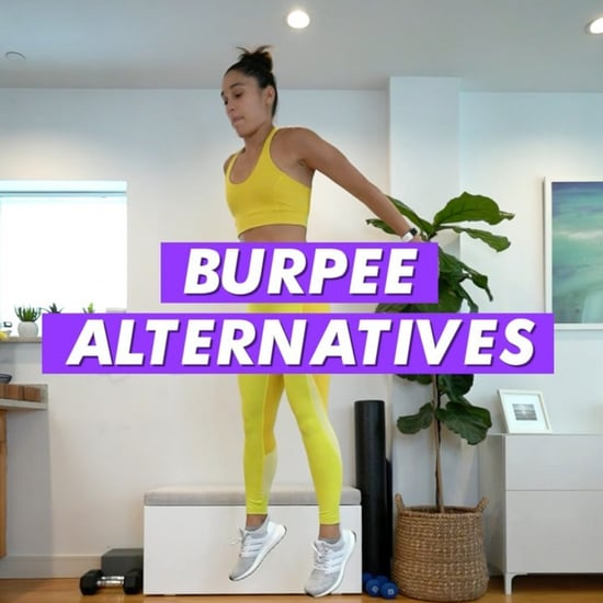 Trainer Charlee Atkins's Burpee Alternatives