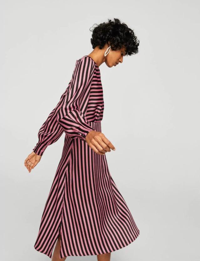 Mango Striped Midi Dress ($99.95) | Best Fashion Buys March