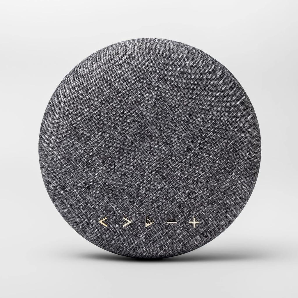 Round Portable Bluetooth Speaker
