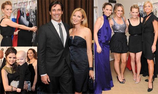 Photos of Haylie Duff, Hilary Duff, Jon Hamm, Jennifer Love Hewitt at St. Jude's Charity Event in LA