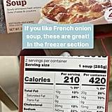 TJ's Cuisine Adventures French Onion Soup ($5)