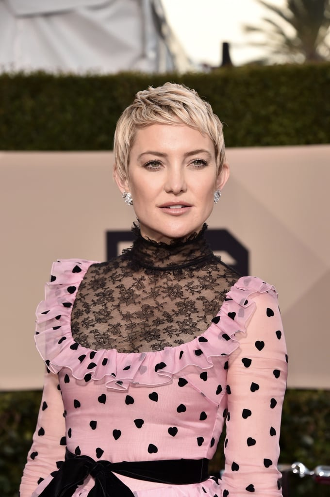 Kate Hudson S Short Hair At The 2018 Sag Awards Popsugar