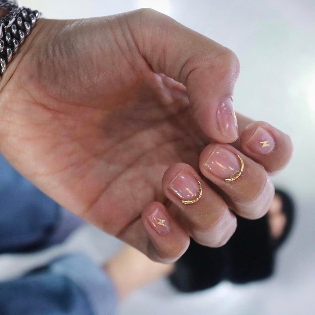 Wire Nail Art Trend | POPSUGAR Beauty Middle East