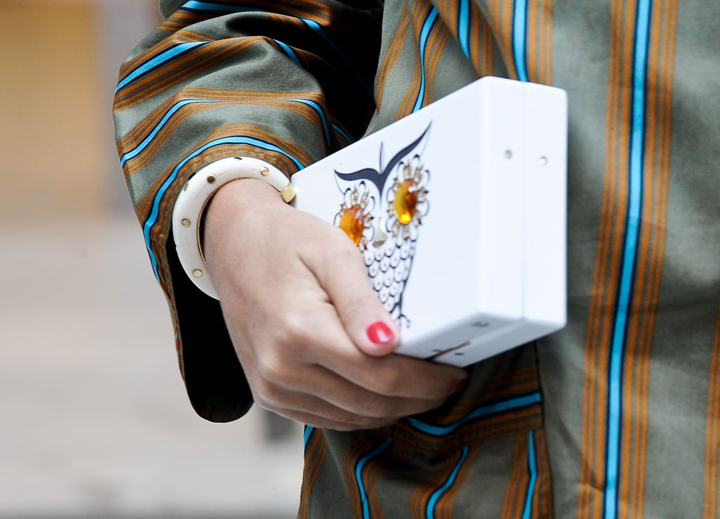 We adore this quirky clutch.
