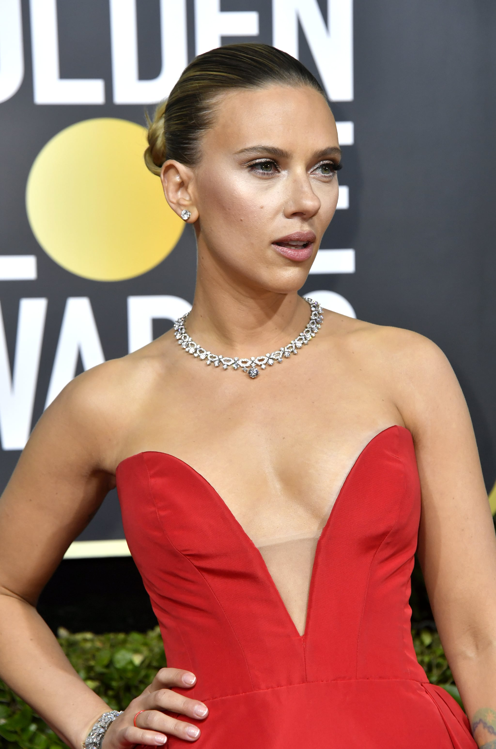 Scarlett Johansson At The 2020 Golden Globes The Sexiest Looks At The Golden Globes 2020 Popsugar Fashion Australia Photo 5